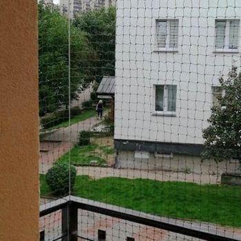 siatka na balkon bardzo mały