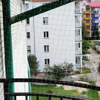 siatka na balkon mały zaokrąglony