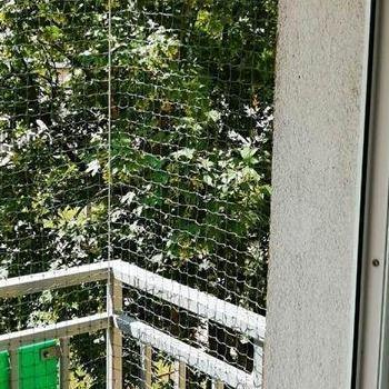 siatka na balkon mały