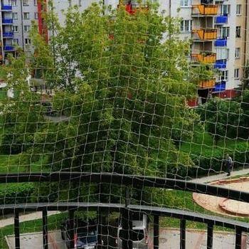 siatka na balkon okrągły