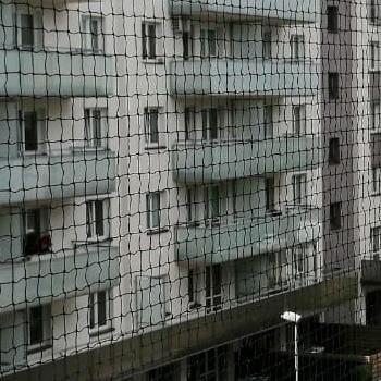 siatka na balkon siatka wzdłuż