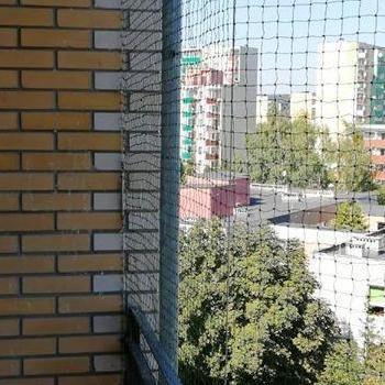 siatka na balkon z boku