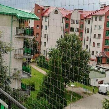 siatka na balkon zaokrąglony