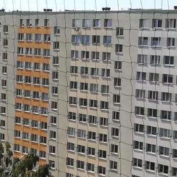 siatka na balkonie dużym