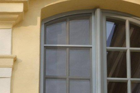 Moskitiery okienne szare
