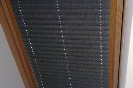 Plisy dachowe zasloniete