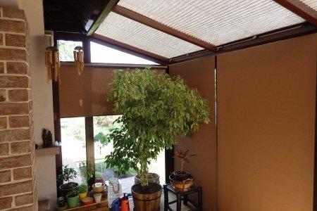 Plisy okienne balkon i okno