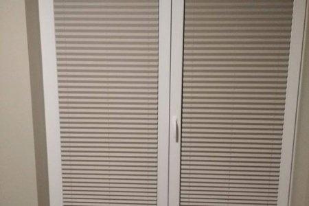 Plisy okienne male zamkniete