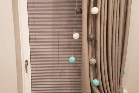 Plisy okienne calosciowe zasloniete