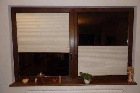 Plisy okienne 3 zakmniete