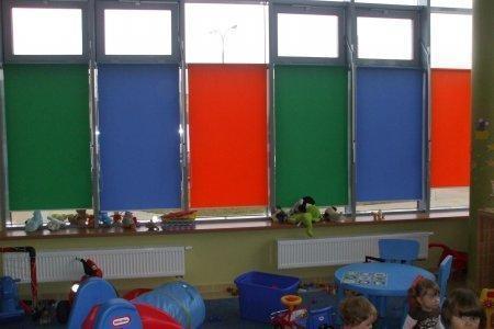 rolety wolnowiszace w przedszkolu