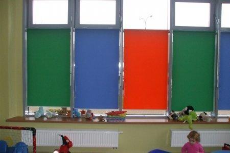 rolety wolnowiszace kolorowe